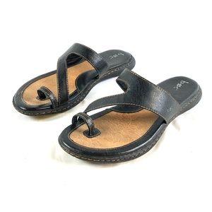 boc BORN women's black sandals flats size 10